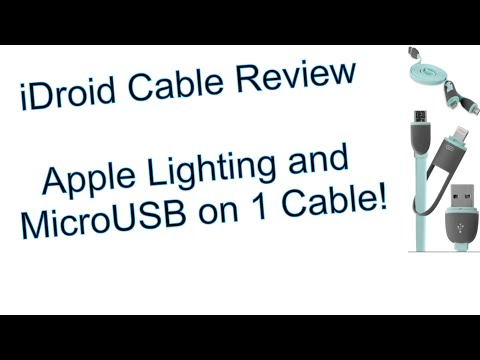 BoxWave iDroid 2-in-1 Cable Lightning + Micro USB Review