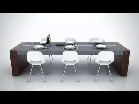 Tavolo di Alfonso - Concrete Dining Table