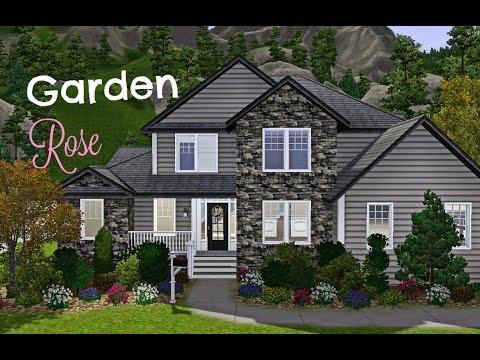 The Sims 3 House Building - Garden Rose♡