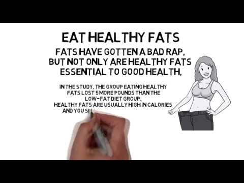 Eat Healthy Fats - Loseweightveryfast