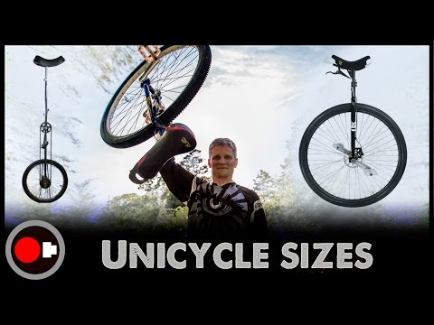 Unicycle science - Why so many wheel sizes?