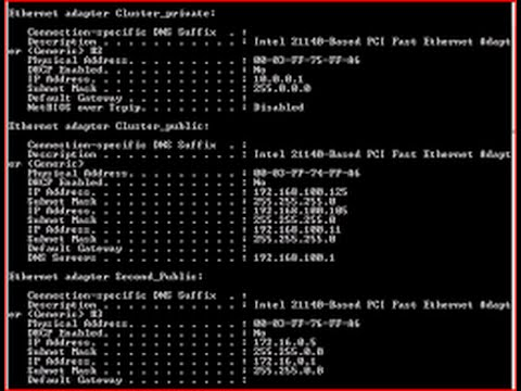 Debian Part 1 :  Virtual IP Address