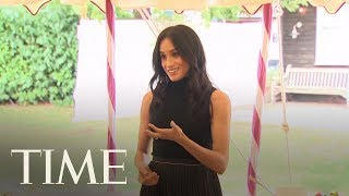 Meghan Markle Emphasizes The Power Of Food In First Royal Speech   TIME