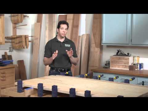 4 Tips for Gluing Clamping a Tabletop