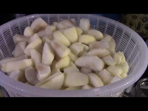Canning Apples In Simple Syrup!