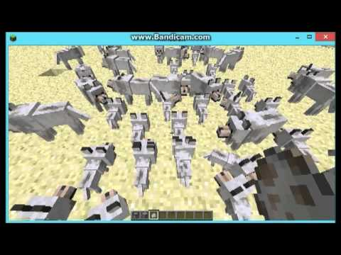 Minecraft spawn egg wolf failure (random!!!!!!!!)