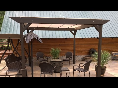 DIY – How to build a Simple Stand-alone Sun Shade - Shelter