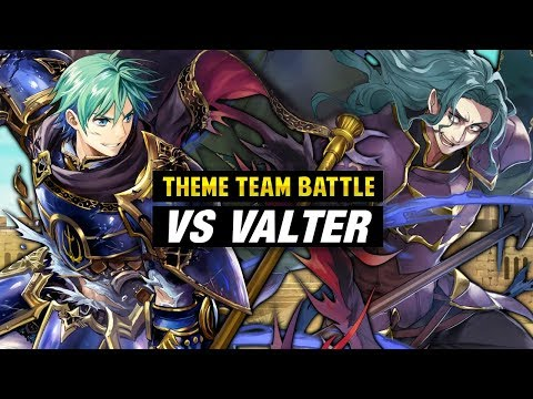 INFERNAL Valter GHB Vs. Ephraim & Sacred Stones Units - Fire Emblem Heroes Theme Team Battle