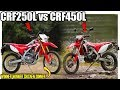 Why The CRF250L Is BETTER Than The All New CRF450L..