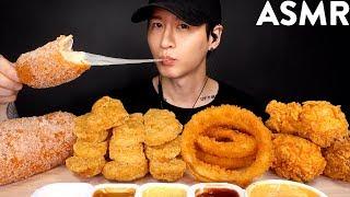 Download MOST POPULAR FOOD FOR ASMR (KFC, ONION RINGS, MOZZARELLA CORN DOG, CHICKEN NUGGETS) NO TALKING Video