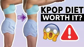 Download I TRIED A KPOP DIET | BEFORE/AFTER RESULTS | WORTH IT? LOST 1 KG A DAY? Video