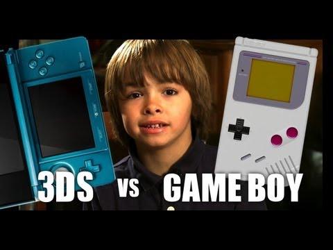 Nintendo 3DS vs The Original Gameboy