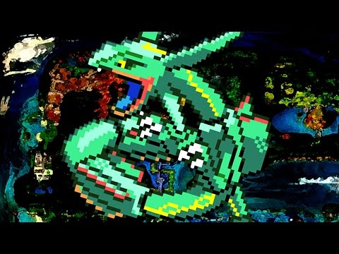 Recruiting Rayquaza [Pokémon Mystery Dungeon Red Rescue Team] (some gameshark)
