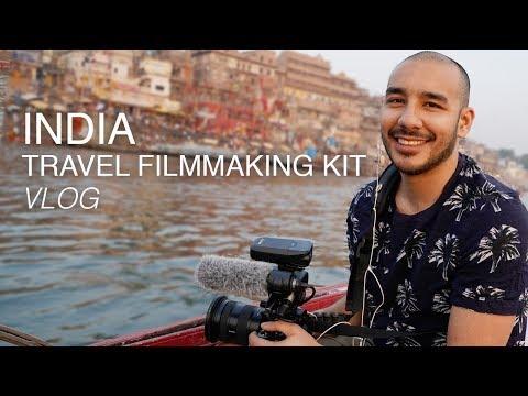 Travel Filmmaking Kit VLOG   India Travel Documentary   Travel Film Gear