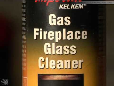 How to clean the glass on your Napoleon Fireplace