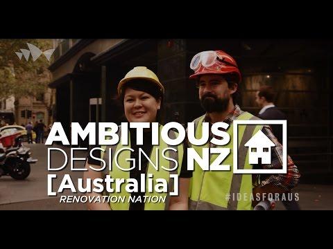 Trailer: 'Ambitious Designs: NZ Australia Nation Renovation'