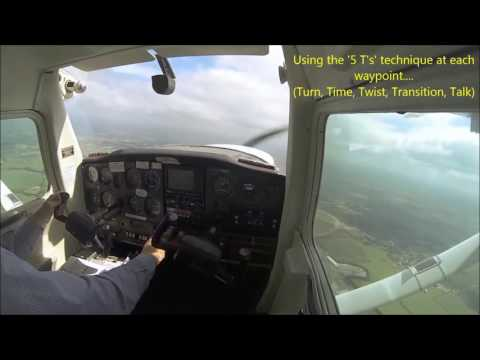Solo Qualifying Cross Country Flight for EASA PPL from Wellesbourne (EGBW) to Cambridge (EGSC), UK