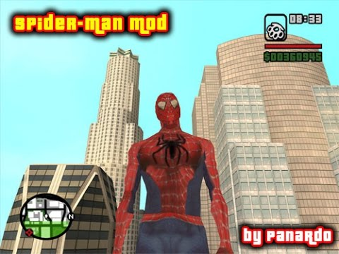HOW TO INSTALL GTA SA SPIDERMAN SKIN MOD -NEW DESCRIPTION-