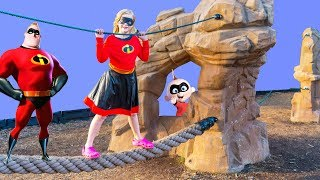 Incredibles 2 are Missing and Found by the Assistant at the Park