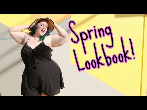 PLUS SIZE SPRING FASHION Lookbook