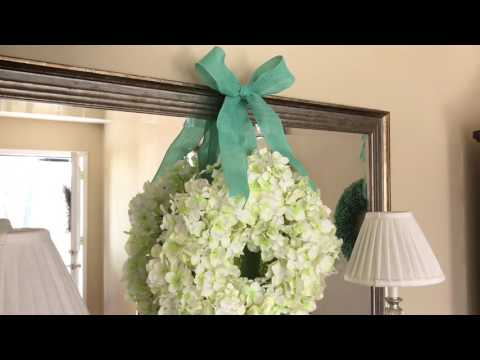 Martha Stewart Inspired Wreath Using Dollar Tree Items