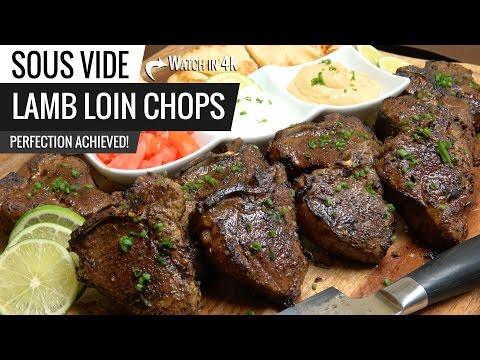 Sous Vide Lamb Loin Chops Perfection!