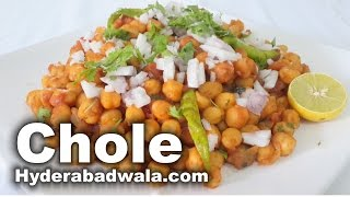 Chole Recipe Video – How to Make Hyderabadi Ramadan Special Kabuli Chana chole for Iftar