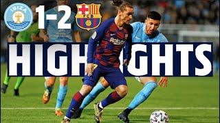 HIGHLIGHTS   UD Ibiza 1 - 2 FC Barcelona