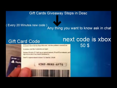 FREE GIFT CARDS ( LEGIT )  XBX 1 , PS4 , STEAM , ITUNES , PAYPAL AND MORE CHECK OUT FAST !!!!