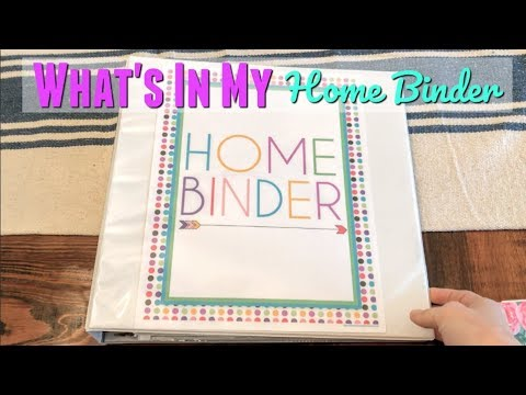 DIY HOME BINDER // HOW TO ORGANIZE YOUR LIFE // DIY PLANNER