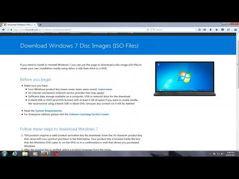 How To Download Windows 7 ISO For Free From Microsoft [2018 Tutorial]