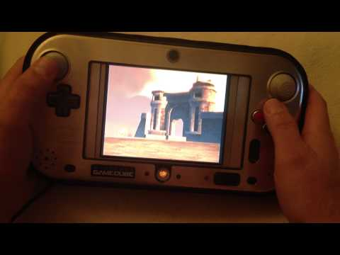Gamecube wiikey  handheld    the silver cube