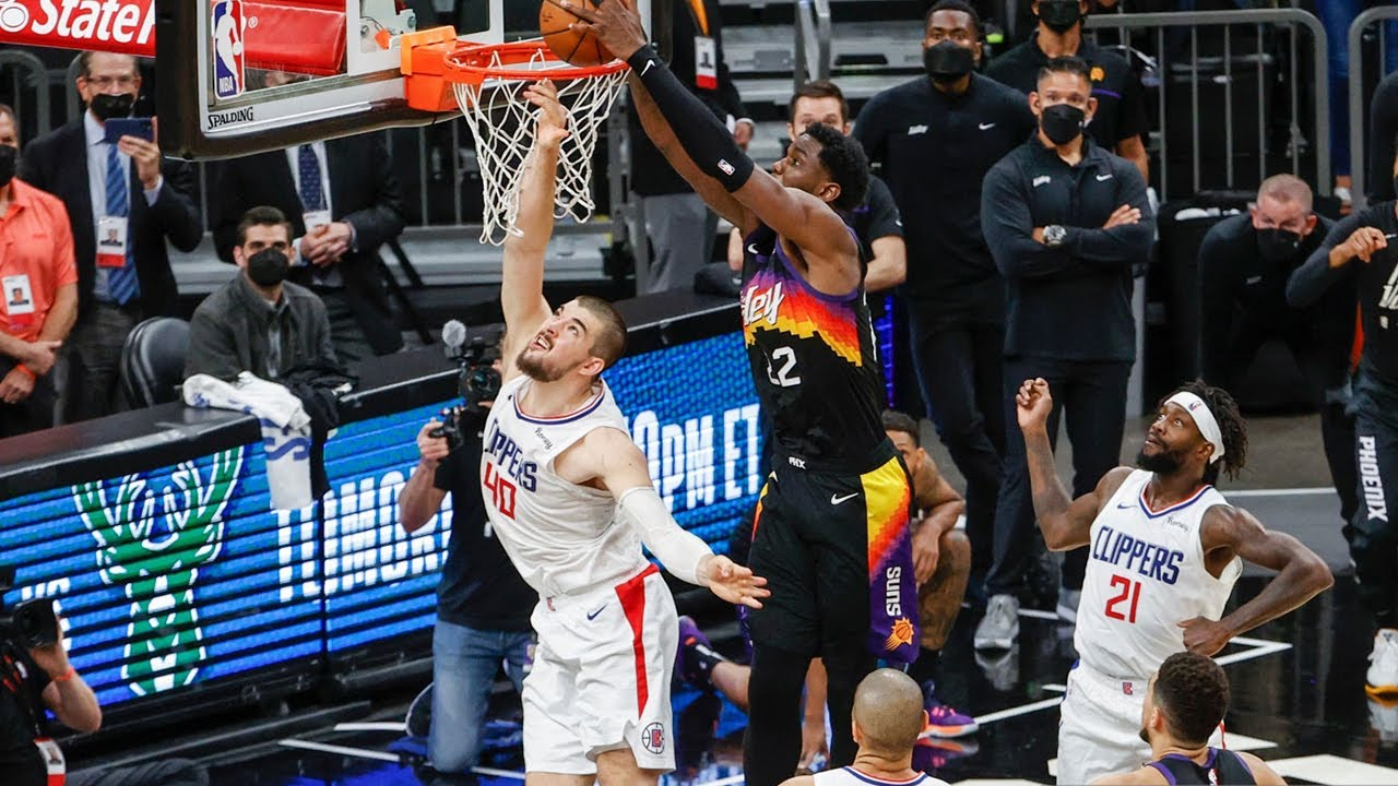 Deandre Ayton with UNREAL game winning dunk of the year 😲 Suns vs Clippers Game 2