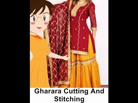 Gharara Cutting And Stitching - Tailoring With Usha