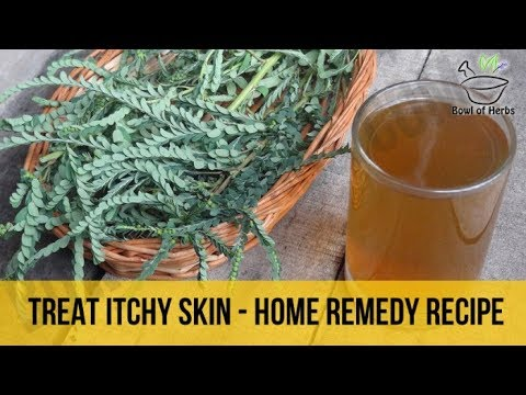 Henna to treat itchy skin - Skin care remedy