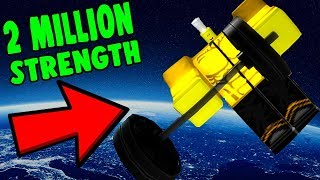ROBLOX SPACE WEIGHT LIFTING SIMULATOR *2 MILLION STRENGTH*
