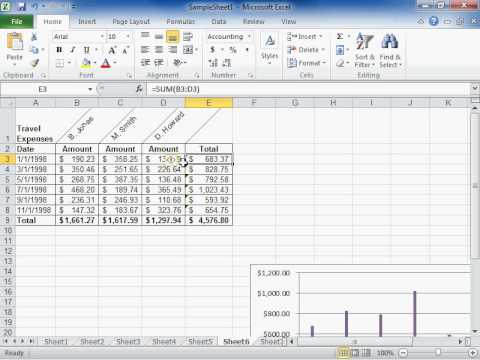 Understand the Green Triangle at the Corner of a Cell - Excel 2010