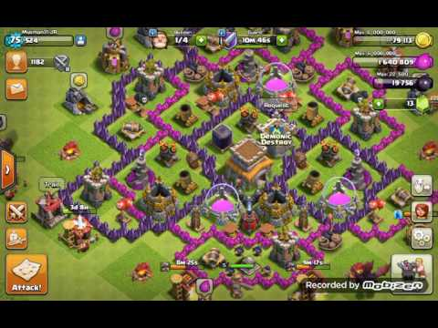 How To Get Insane People to join your Clan in Clash Of Clans!!
