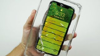 Download What Happens If You Cast an iPhone X in Liquid Glass? Video
