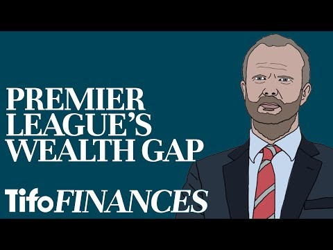 The Wealth Gap: From Manchester United to Burnley