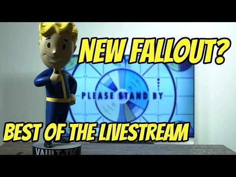 New Fallout? Best of the Bethesda Twitch Livestream