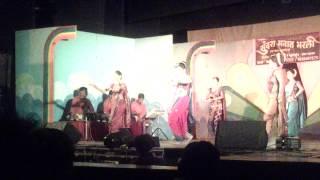 Sneha Chavan Performing On Wajle Ki Baara