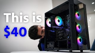 Deepcool Showcase: Dual-Tempered Glass PC Case for $40?!