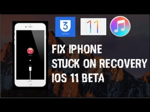 Fix IOS 11 Beta Recovery mode loop when Downgrading!! UNBRICK your iPhone!! & Downgrade!!