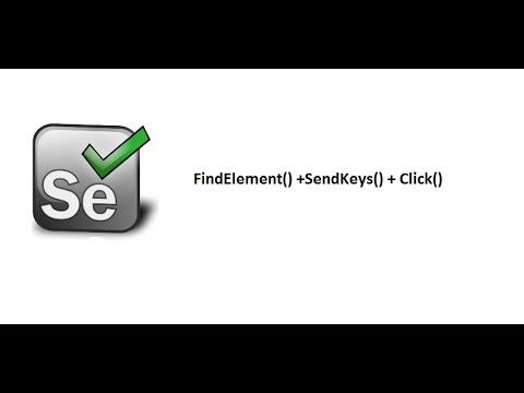 Selenium WebDriver C# - Inspect Elements+FindElement()+click()+sendKeys()