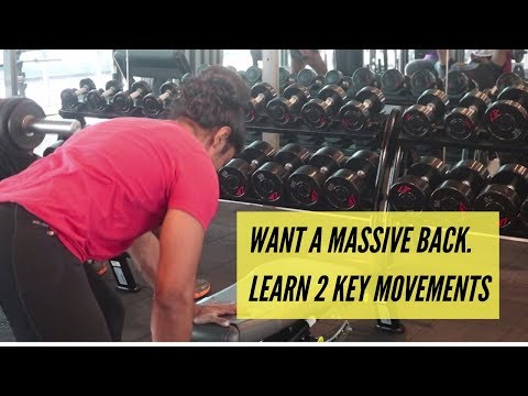 A Bigger Back with 2 key movements - sinhala bodybuilding