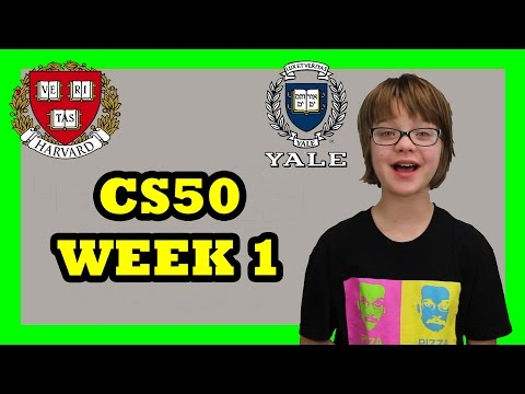 Learning to Code at Harvard - CS50 Week 1 - Day 956 | ActOutGames