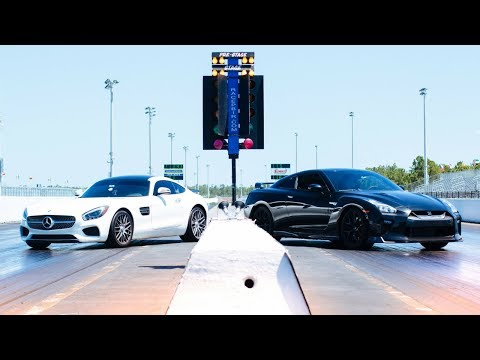 Head to Head - AMG GTS vs. Nissan GTR   You Won't Believe Who Won!