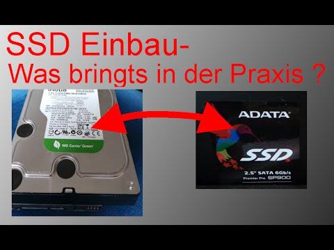 Austausch HD durch SSD - was bringt es wirklich? Ein Praxistest
