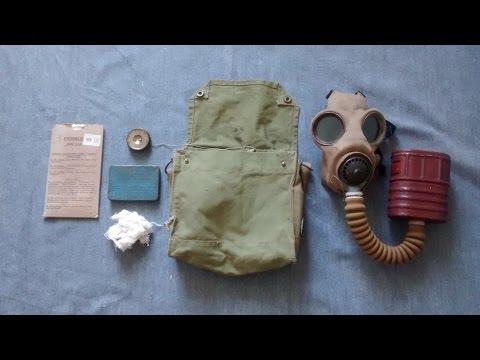 British Special T Mic Respirator in Mk. VII Haversack - 1942